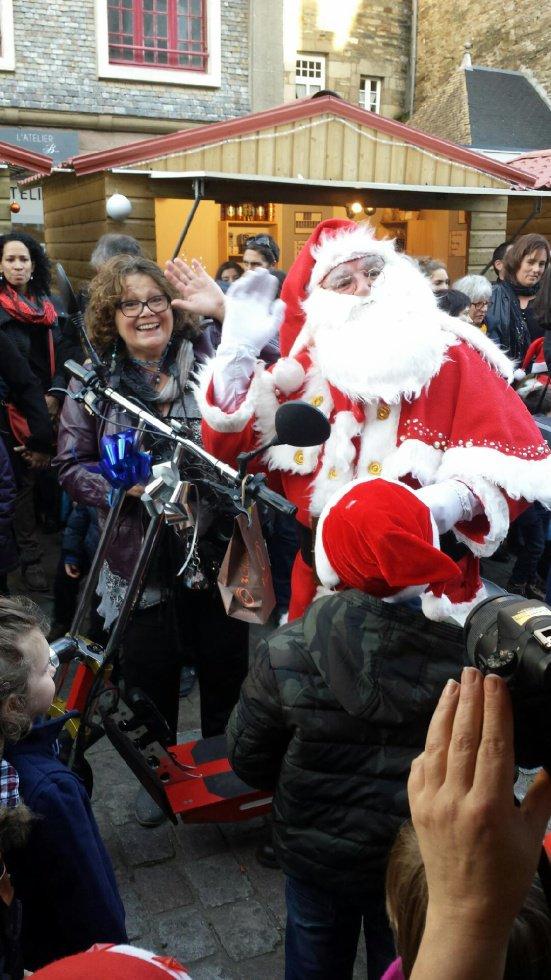 Un coucou avec le père Noël !!!