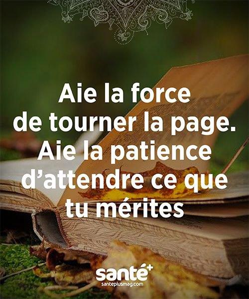 Aie la patience ...