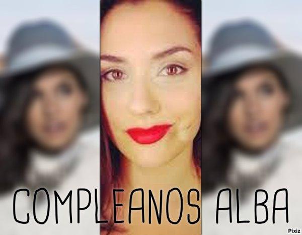 COMPLEANOS Alba