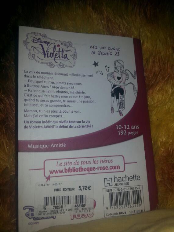 Violetta.Ma vie avant le studio 21