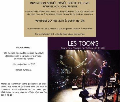 SORTIE DU DVD 20 MAI 2011 !!