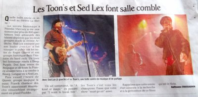 ARTICLE DU 28 NOVEMBRE 2011