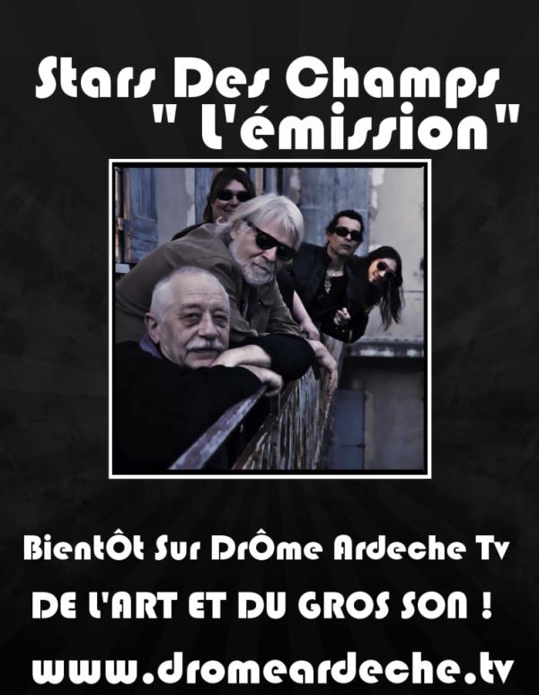 STARS DES CHAMPS  À LA TÉLÉ !!