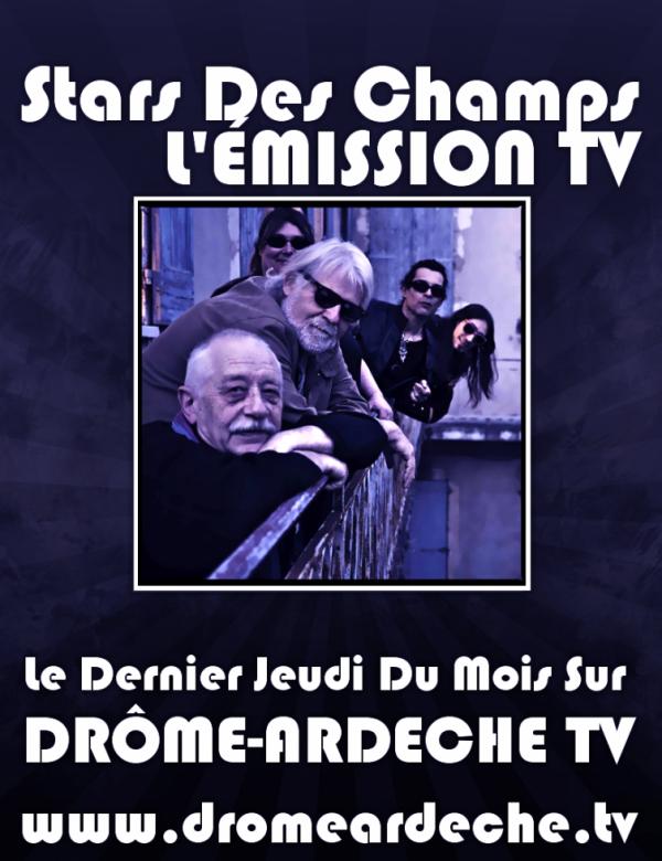 STARS DES CHAMPS À LA TV !!