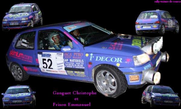 montage du rallye de venasque 2011