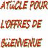 ARTICLE POUR L'OFFRE DE BIENVENUE