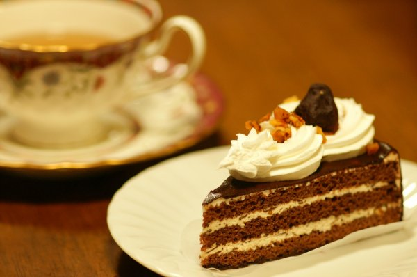 PIECE OF CAKE & CUP OF TEA