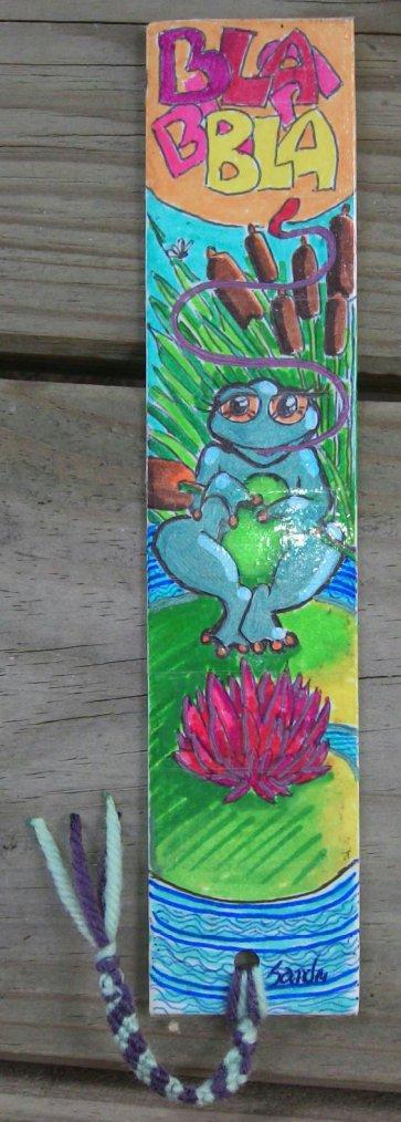 Activité gribidouillage ~ frog