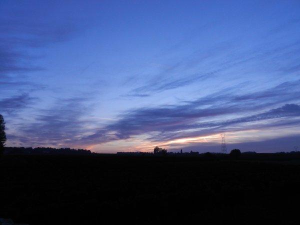 PHOTOS PERSO: Or et bleu, quand le soleil s'éveille des songes - 20 Oct 2015