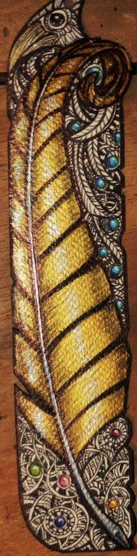 ATELIER GRIBIDOUILLAGE -- Gold Feather (Marktapage)