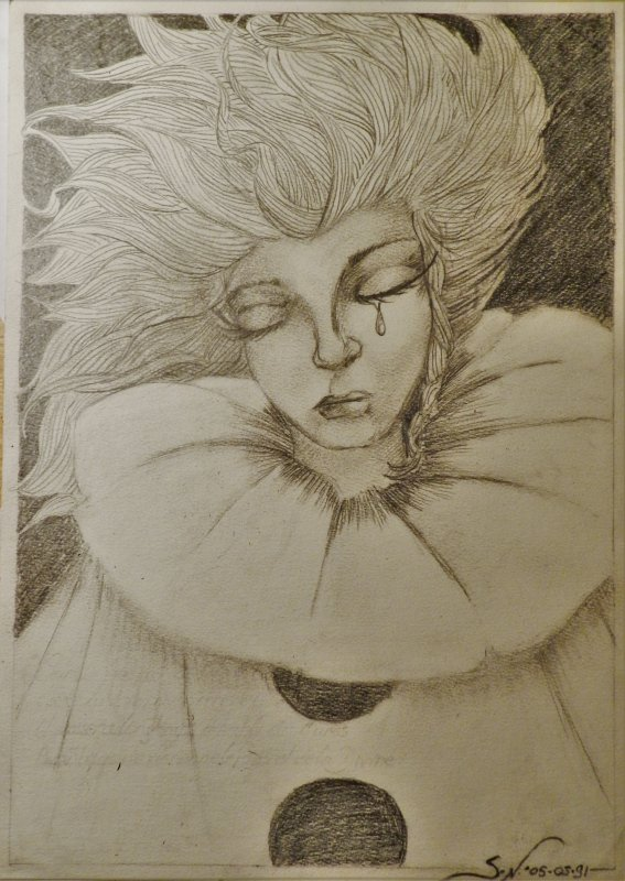 ATELIER GRIBIDOUILLAGE -- PICPOEM - La larme de Colombine