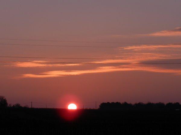 PHOTOS PERSO: 1er avril 2016, lever de soleil