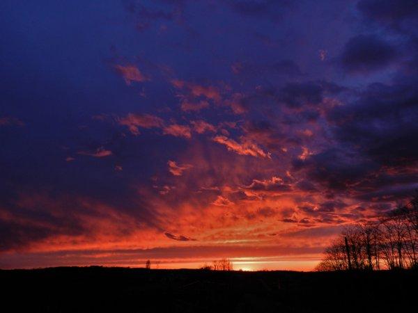 PHOTOS PERSO: Et le soleil se coucha....
