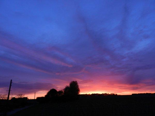 PHOTOS PERSO: lever de soleil 20 avril 2016 7h du mat.