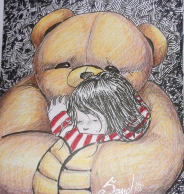 ATELIER GRIBIDOUILLAGE : Hug for O.