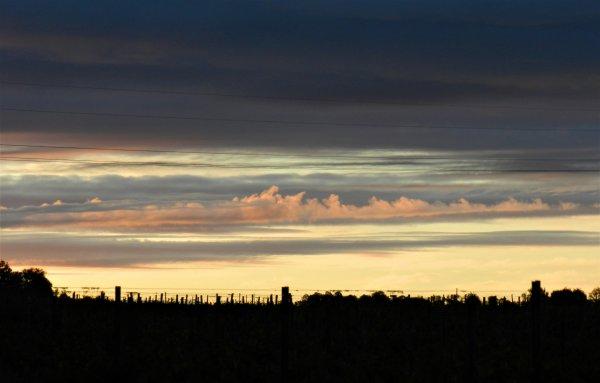 PHOTOS PERSO - Un Ciel, un soir...