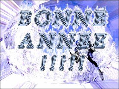 BONNE ANNNEE A TOUS