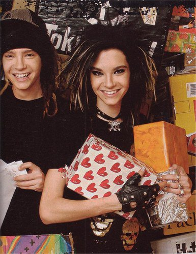 BILL ET TOM KAULITZ, NE LE 1ER SEPTEMBRE 1989