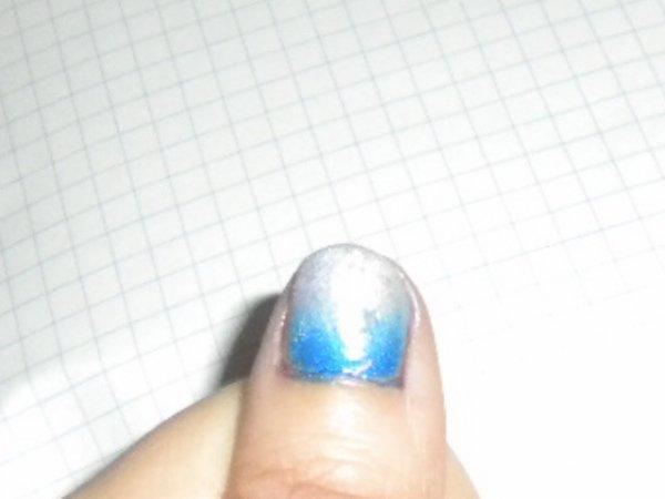 Nail art dégrédé [ Raté ]