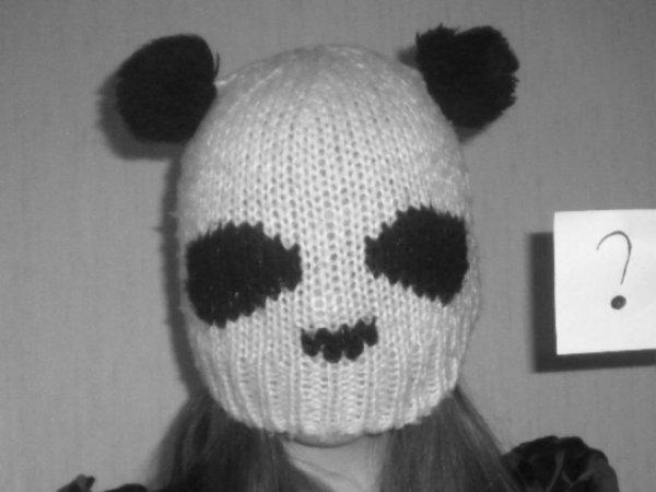 "Moi en mode ""Petit Panda"""