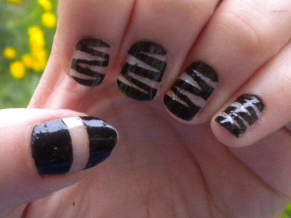 Nail art Géométrique