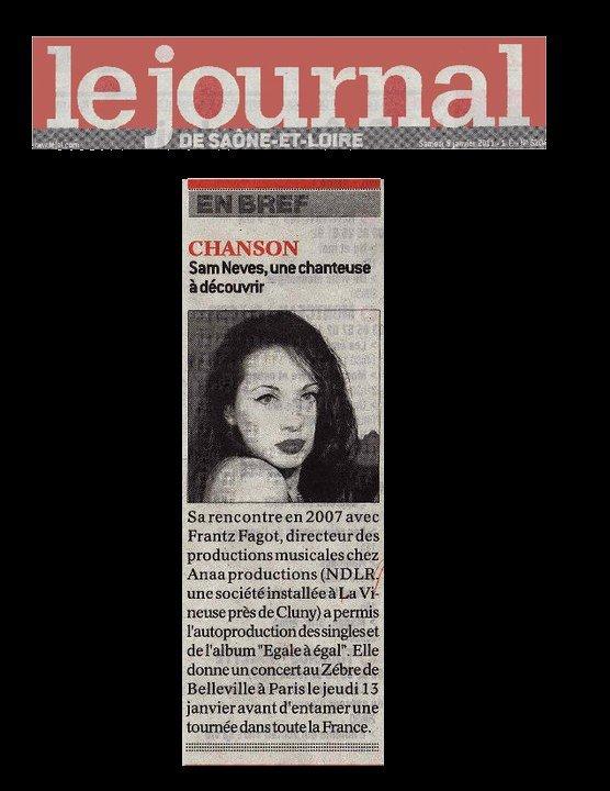 LE JOURNAL SAÔNE-ET-LOIRE