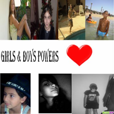 Boys & Girls Powers <3