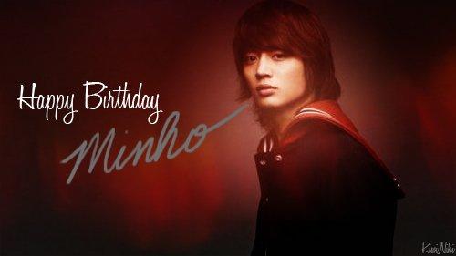 Happy MinHo