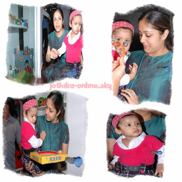 Cute Diya with Joe mum !!