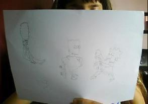 mes dessins simpson