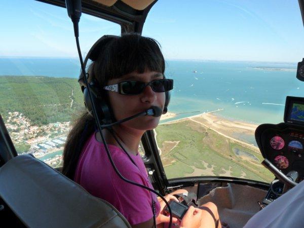 moi au bapteme d'helicoptere