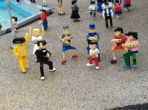 gagnam style en lego