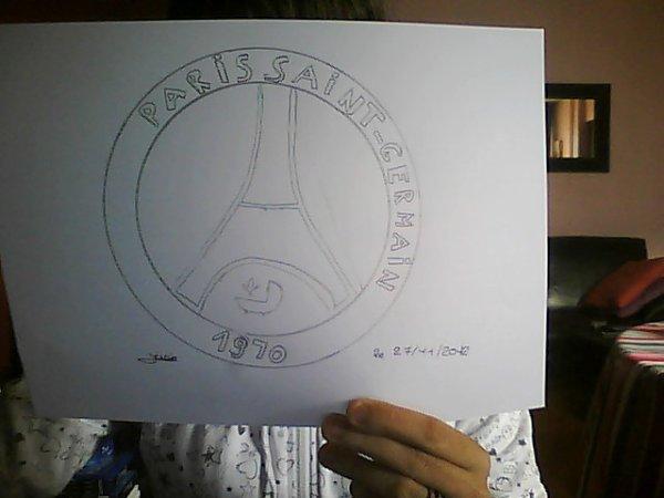 psg dessin que j ai fais