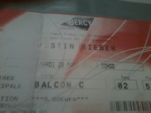 Place justin bieber