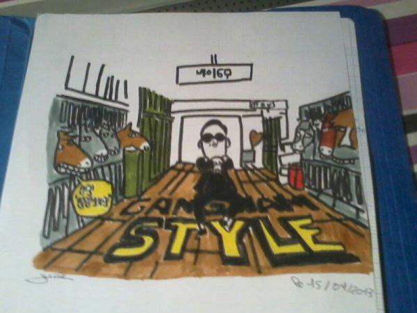 Gangnam style fini