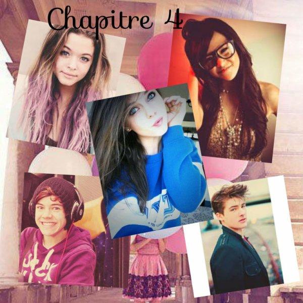 Si tu ne crois pas en toi, dis moi qui le fera à ta place ? [True, Nicole Scherzinger ♥] Par ailleurs, this was my 4th chapter ! (: