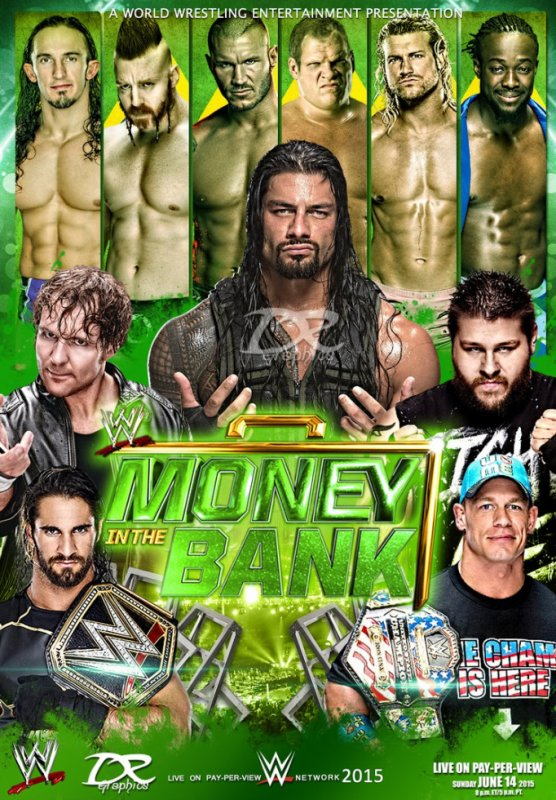 Money In The Bank 2015 <3
