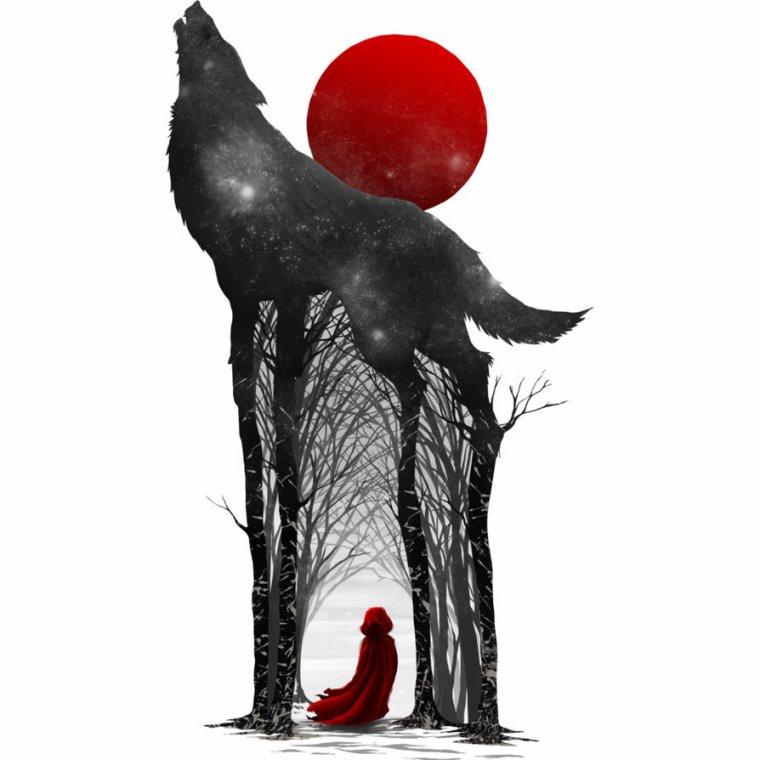 Le Petit Chaperon Rouge a ma Manière ~ Mon Histoire ~ Chapitre 1