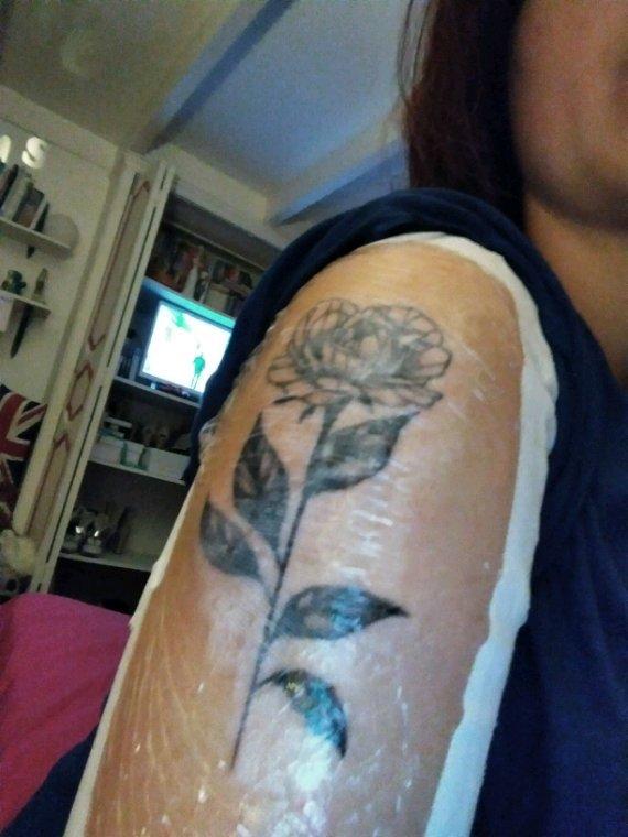 Sortie de chez le tatoueur ! *&*