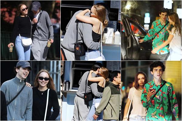 Timothee est avec Lily Rose Depp depuis quelques semaines - NY :