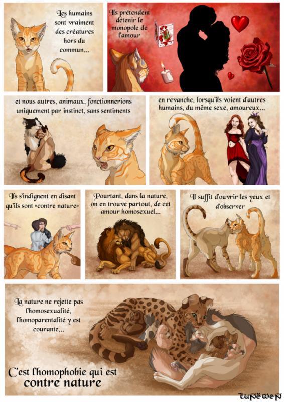 l'homosexualité chez les animaux existe