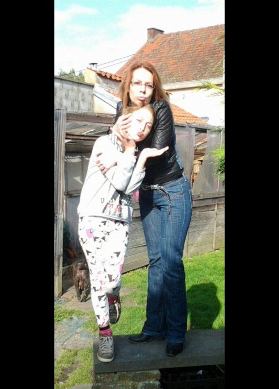 ma fille lorna et moi 2014