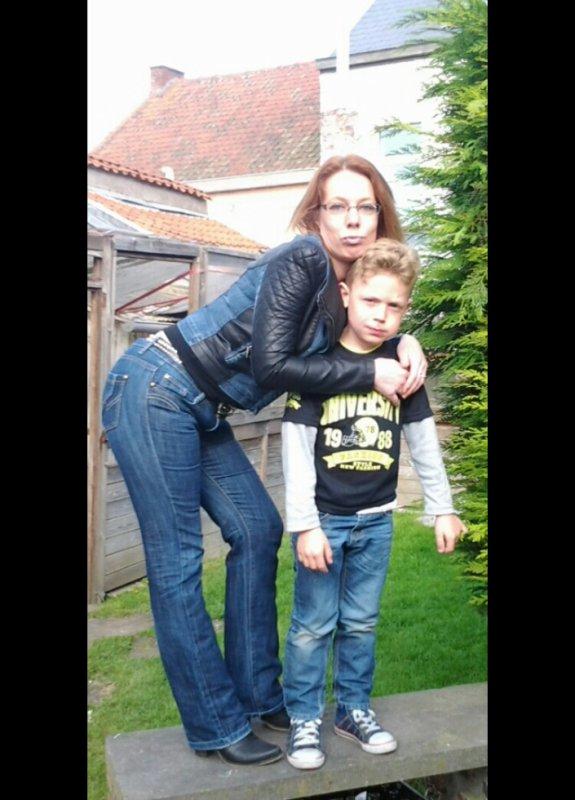 mon fils kylian et moi 2014