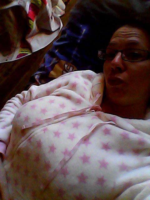 moi trinkil et tedindu dans mon pyjama