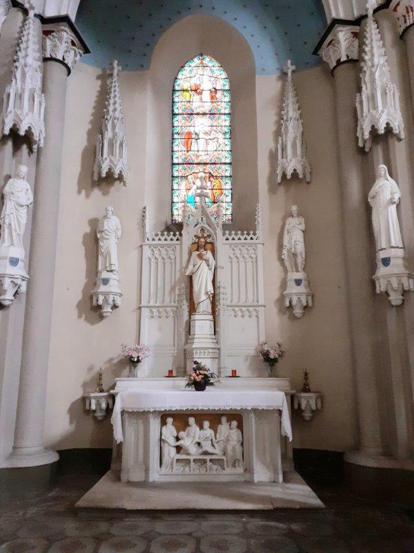 Mon expérience à l'église St Jean ce matin...