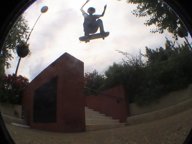 Skate skate and ... skate