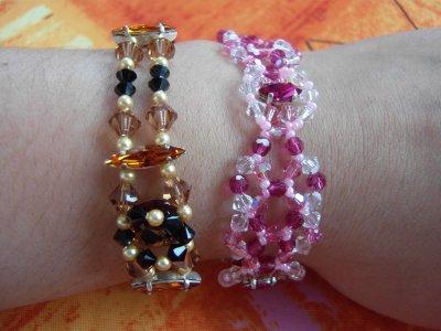 2 gammes de bracelets