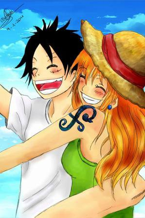 Album Luffy et Nami