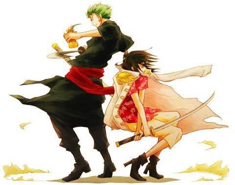 Discussion: Que pensez-vous du couple Tashigi x Zoro ? <3