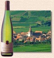 Route des vins.